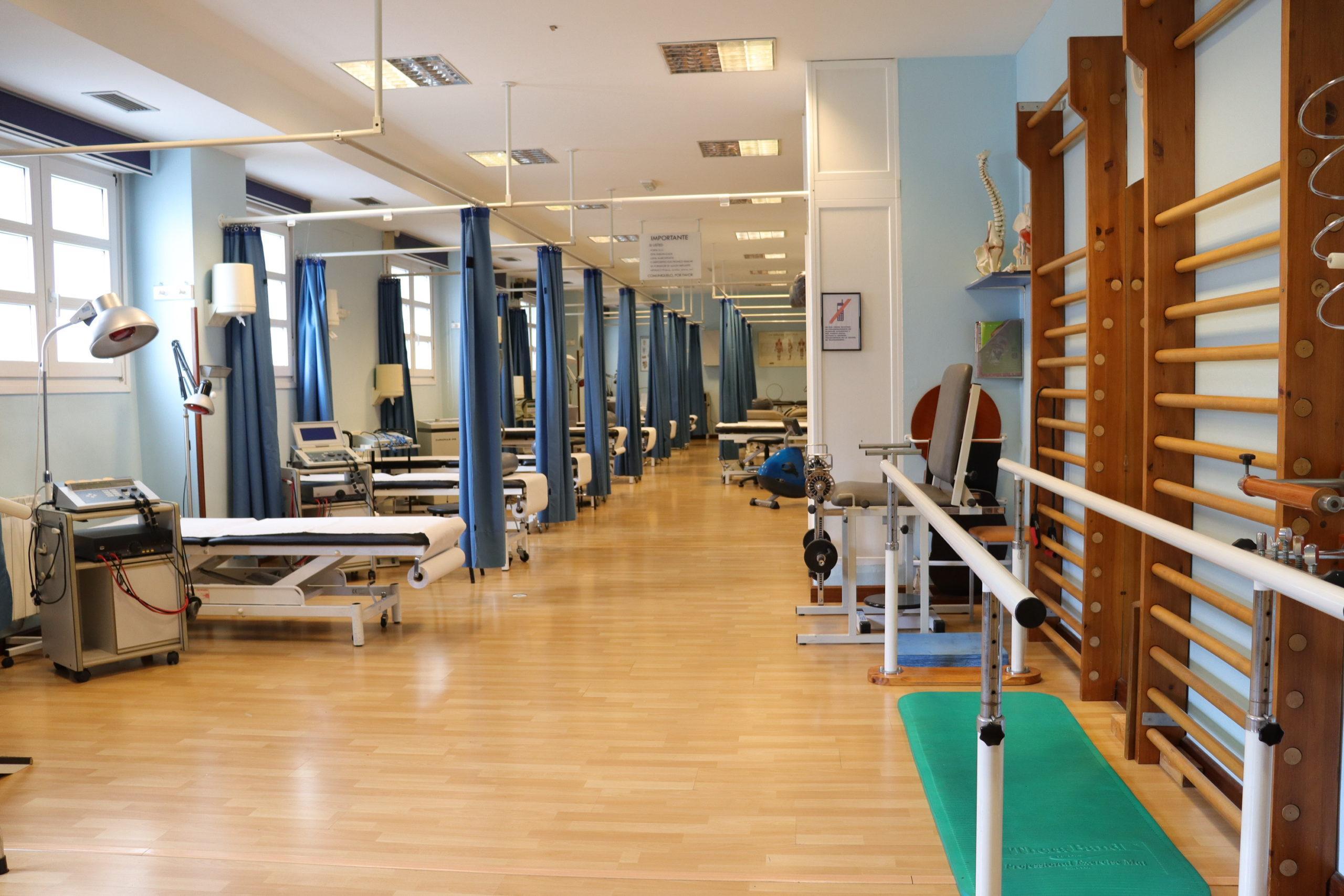 interior clínica fisiomedical